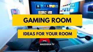 65+ Amazing Gaming Room Ideas For Your Room