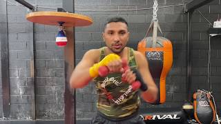 Boxing Training: Shadow Boxing With and Without Weights