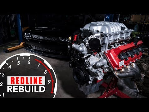 Engine build time-lapse 840-hp Dodge Demon Hemi V-8 | Redline Rebuilds - S3E1