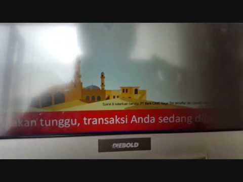 Video CARA TARIK TUNAI KARTU KREDIT CIMB NIAGA