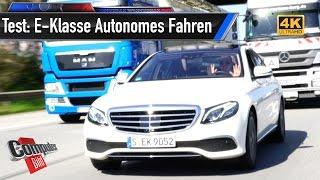Mercedes E-Klasse: Intelligent Drive im Härtetest