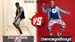 incredible Zigi VS Dancegodlloyd vo.3 Afro Dance Battle