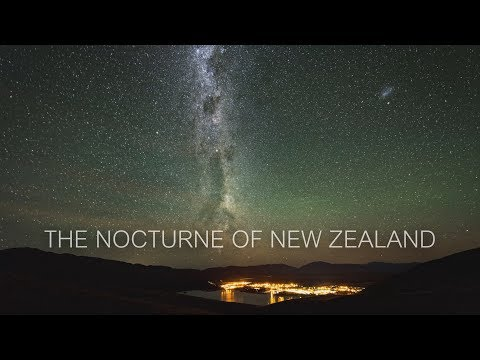The Nocturne of Newzealand
