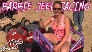 Extreme Barbie Jeep Racing 2017 - King of the Hammers