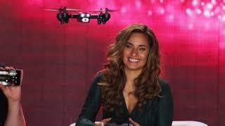 Kristen StephensonPino testet zwei neue Drohnen bei PEARL TV