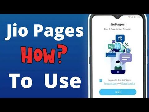 How to Use JioPages Browser?