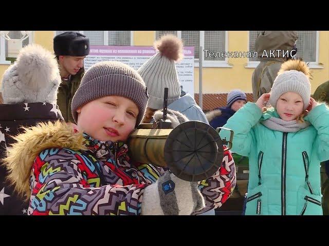 Школьники в гостях у армейцев