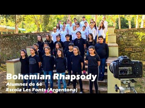 BOHEMIAN RHAPSODY Alumnes de 6è Escola Les Fonts Argentona