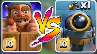"O.T.T.O BOT vs. MASTER BUILDER!! ""Clash Of Clans"" DEATH BATTLE!!"