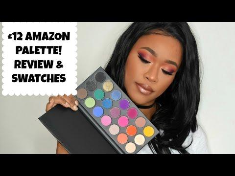 AMAZON PALETTE REVIEW! Karity Cosmetics