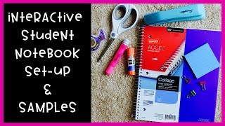 How I Set Up My Interactive Student Notebook | Setup, Samples, & Tips