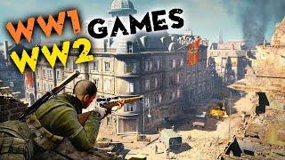 15 Best WORLD WAR Games of All Time