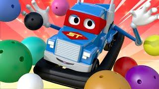 Videa s náklaďáky pro děti - Náklaďák s nárazníkem!