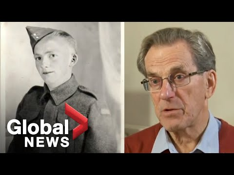 British man learns his father was Canadian soldier