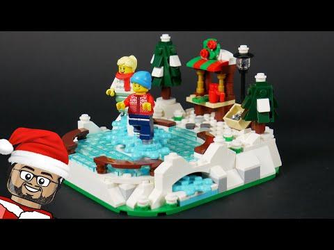Vidéo LEGO Saisonnier 40416 : Patinoire