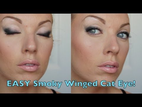 EASY Smoky Winged Cat Eye!