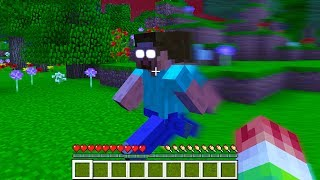 EVIDENCE HEROBRINE IS REAL IN MINECRAFT... (NOT CLICKBAIT)