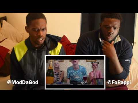 FIRST REACTION TO RUSSIAN RAP/ HIP HOP/ TRAP PART 1 - PHAROAH & BOULEVARD DEPO - CHAMPAGNE SQUIRT (