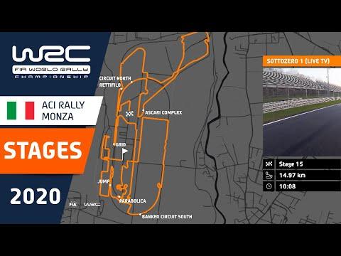 SS16ステージを詳細に説明したコース紹介動画 - WRC第7戦ラリー・モンツァ