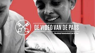 Video van de Paus: Artsen en hun medewerkers in oorlogsgebieden