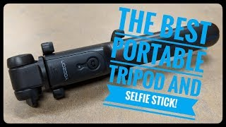 The best portable tripod & selfie stick