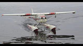 Cessna 172 на поплавках