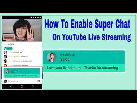 How to Enable Super Chat on YouTube Live streaming 2019 | Alone