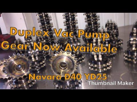 Nissan Navara D40 balance shaft locking how to - смотреть онлайн на