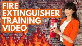 Free Fire Extinguisher Training Video  - OSHA - Updated for 2020