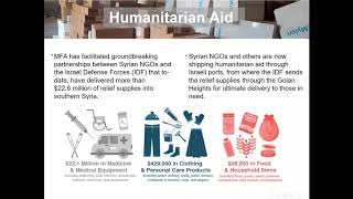 MFA Webinar | Beyond Borders: An Israeli Hospital Helps its Syrian Neighbors