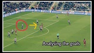 Analysing the goals   Newcastle United 1-1 Swansea City