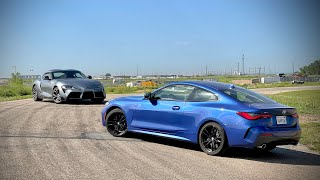 Same Engine, Different Car! BMW 430i vs Toyota Supra 2.0 Track Comparison