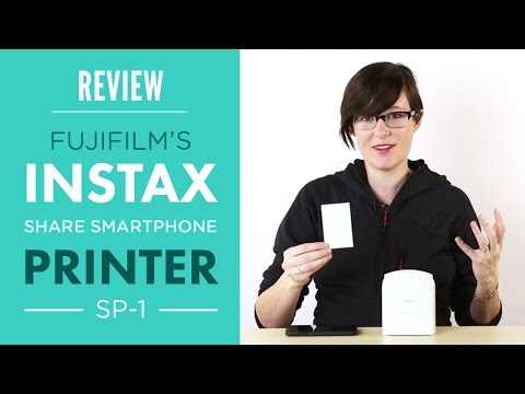 Fuji Instax Share Smartphone Printer SP1 Review