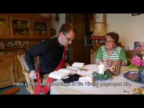 Diakon Philipp Schmitz - Krankenkommunion