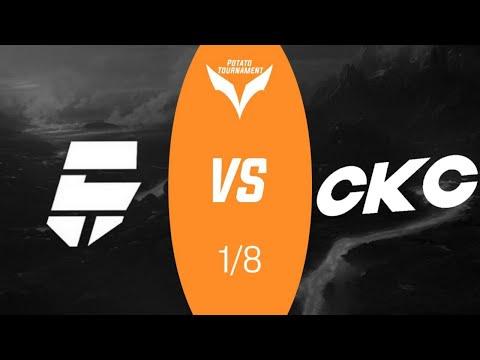 Riders vs CKC  - Игра 1/8 Potato Tournament  на 1000 голды standoff 2