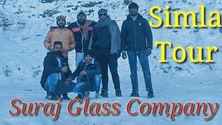 Simla tour || Suraj Glass co.|| Ambala to Narkanda