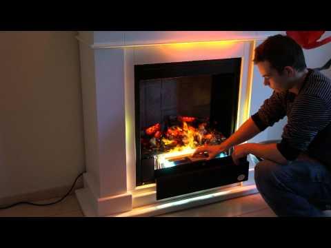 Premium P10, Elektrokamin, Teil 1- Funktion Wasserdampf Feuer RF10 Kamin