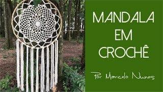 Mandala Em Crochê - Por Marcelo Nunes