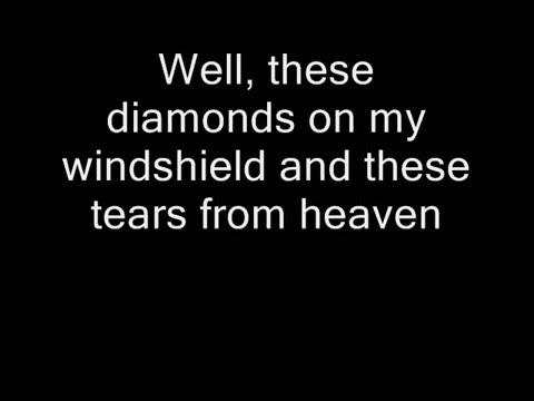 Tom Waits - Diamonds on My Windshield (Lyrics)