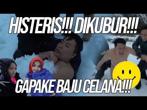 MERRY ULTAH DIKUBUR DI SALJU SUPER DINGIN GA PAKE BAJU CELANA!!!
