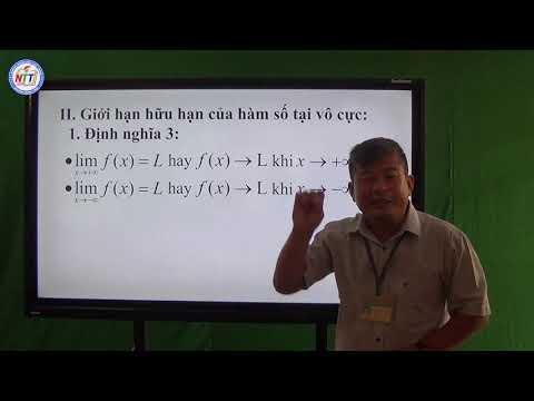 Toán 11 - Giới hạn hàm số (1)