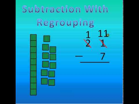 Subtraction by regrouping