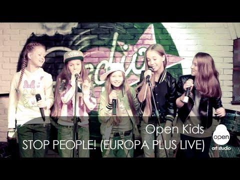 Open Kids - Stop People! live at Europa Plus Radio Bar (Kiev 107.0 FM) 2013