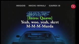 MotorSport  Migos, Nicki Minaj, Cardi B   MotorSport (lyrics)