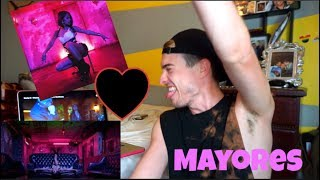 Becky G - Mayores ft Bad Bunny {FUNNY REACTION VIDEO}