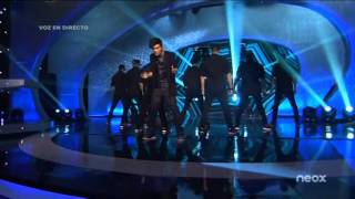 Abraham Mateo - All The Girls (La La La) - Neox Fan Awards 2014 (08 - 10 - 2014)