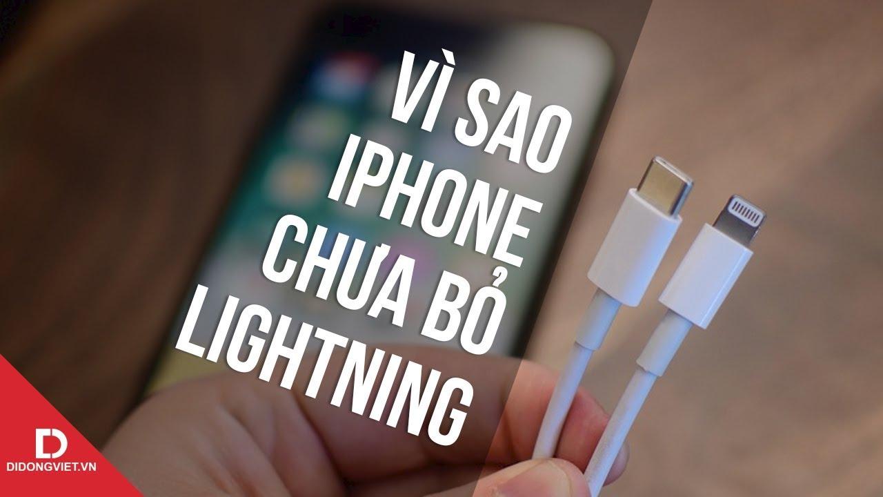 Vì sao Apple muốn bỏ lightning cực kỳ khó