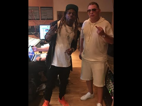 Lil Wayne in the studio with Scott Storch