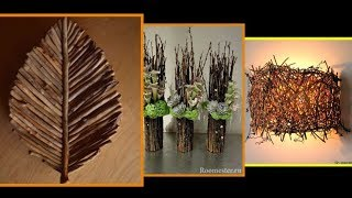 40+ Amazing DIY Tree Branches Idea Projects