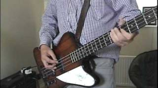 Danko Jones,Sore Loser,Bass cover